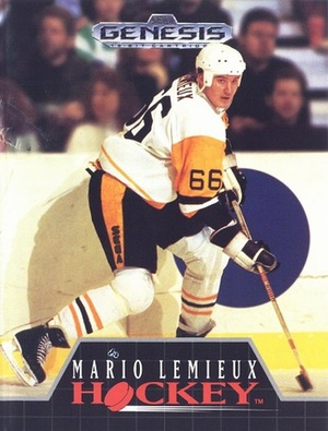 Cover for Mario Lemieux Hockey.