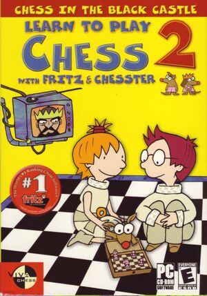 Cover for Learn to Play Chess with Fritz & Chesster 2: Chess in the Black Castle.