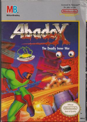 Cover for Abadox.
