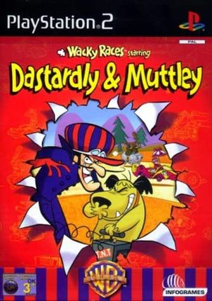 Cover for Wacky Races Starring Dastardly and Muttley.