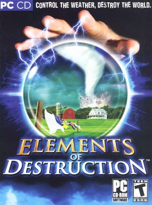 Cover for Elements of Destruction.