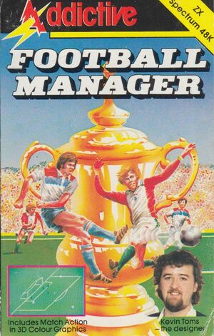 Cover for Football Manager.