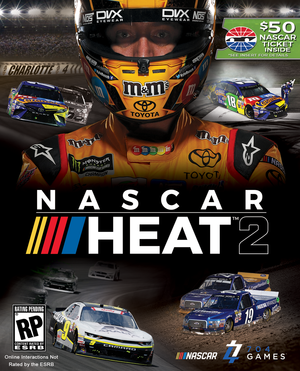 Cover for NASCAR Heat 2.