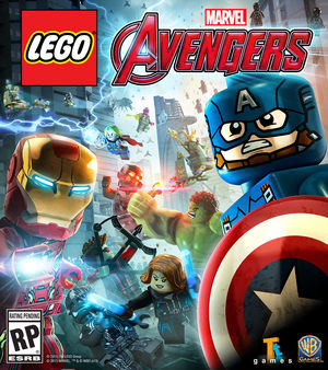 Cover for Lego Marvel's Avengers.