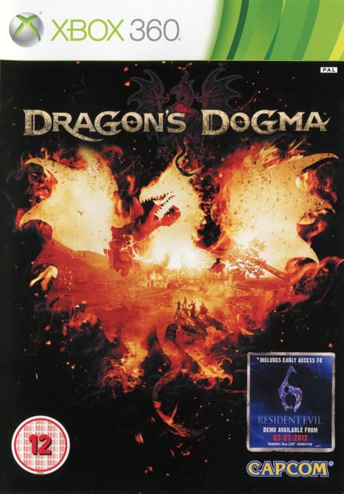 Cover for Dragon's Dogma.