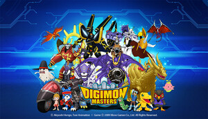Cover for Digimon Masters Online.
