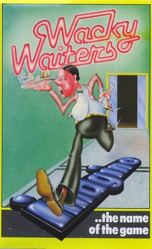 Cover for Wacky Waiters.