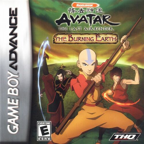 Cover for Avatar: The Last Airbender - The Burning Earth.