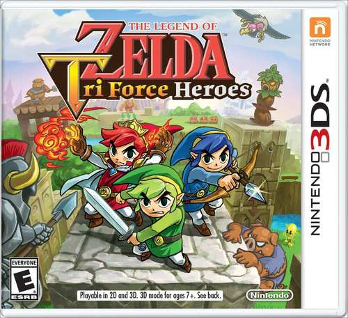 Cover for The Legend of Zelda: Tri Force Heroes.
