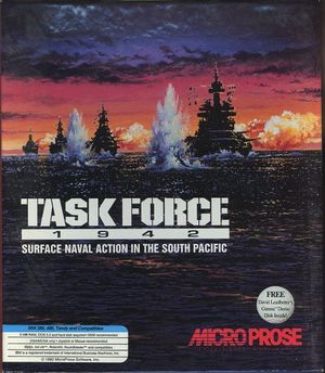 Cover for Task Force 1942.