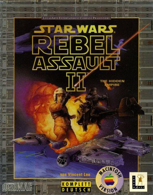 Cover for Star Wars: Rebel Assault II: The Hidden Empire.