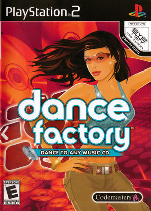 Cover for Dance Factory.