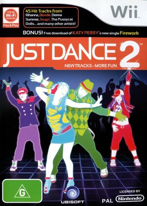 Cover for Just Dance 2.
