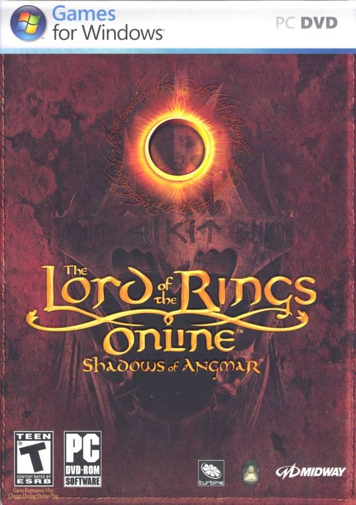 Cover for The Lord of the Rings Online: Shadows of Angmar.