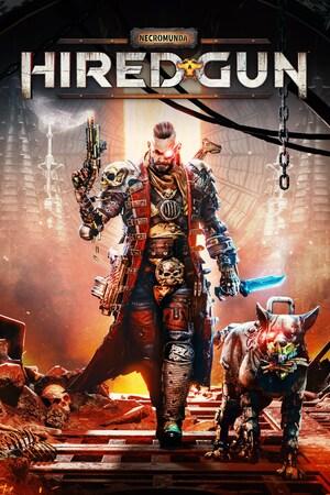 Cover for Necromunda: Hired Gun.