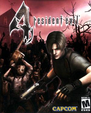 Cover for Resident Evil 4.