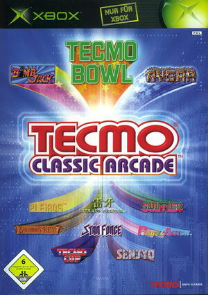 Cover for Tecmo Classic Arcade.