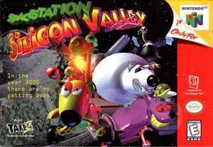 Cover for Space Station Silicon Valley.