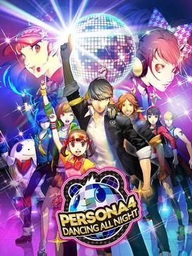 Cover for Persona 4: Dancing All Night.