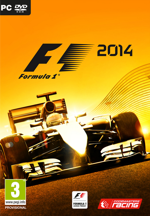 Cover for F1 2014.
