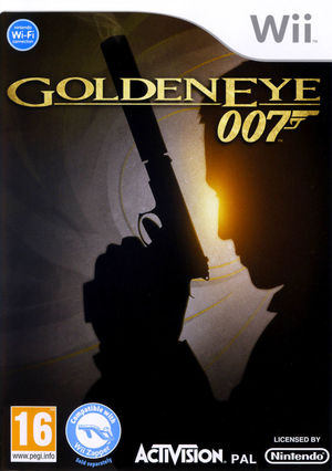 Cover for GoldenEye 007.