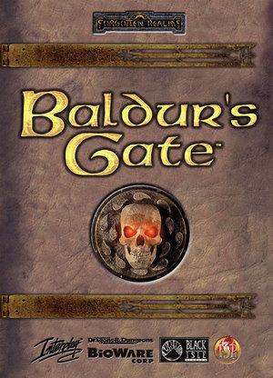 Cover for Baldur's Gate.