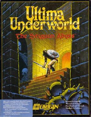 Cover for Ultima Underworld: The Stygian Abyss.