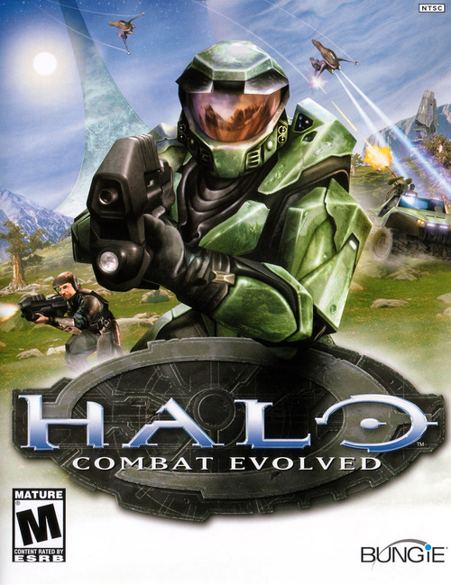 Cover for Halo: Combat Evolved.