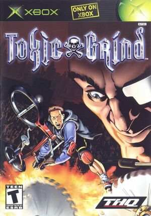 Cover for Toxic Grind.