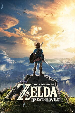 Cover for The Legend of Zelda: Breath of the Wild.
