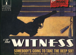 Cover for The Witness.