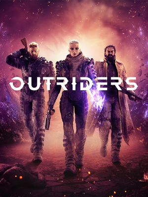 Cover for Outriders.