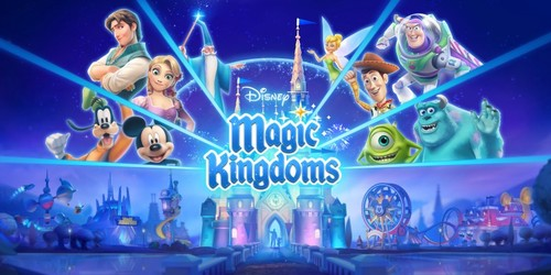 Cover for Disney Magic Kingdoms.