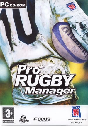Cover for Pro Rugby Manager.