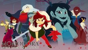 Cover for Momodora: Reverie Under the Moonlight.