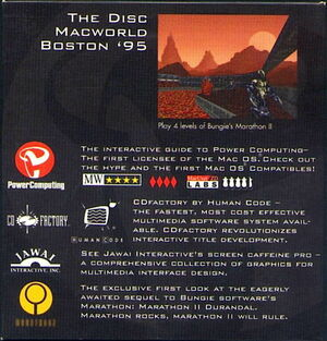 Cover for Marathon 2: Durandal.