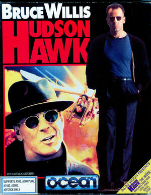 Cover for Hudson Hawk.