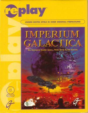 Cover for Imperium Galactica.