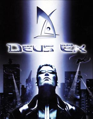 Cover for Deus Ex.