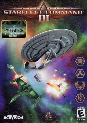 Cover for Star Trek: Starfleet Command III.
