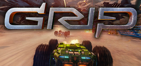 Cover for GRIP: Combat Racing.