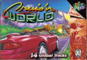 Cover for Cruis'n World.