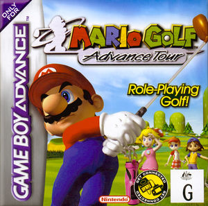 Cover for Mario Golf: Advance Tour.