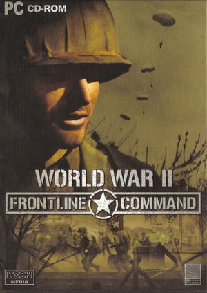 Cover for World War II: Frontline Command.