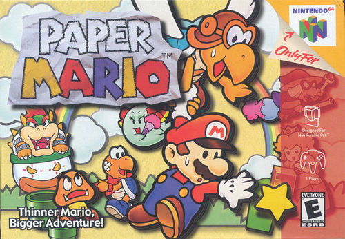 Cover for Paper Mario.