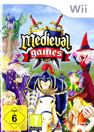 Cover for Medieval games.