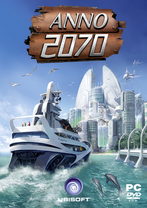 Cover for Anno 2070.