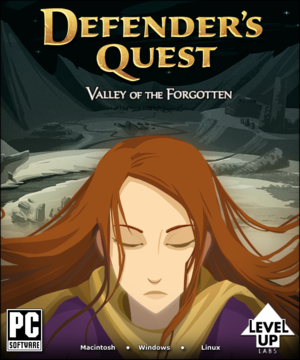 Cover for Defender's Quest.