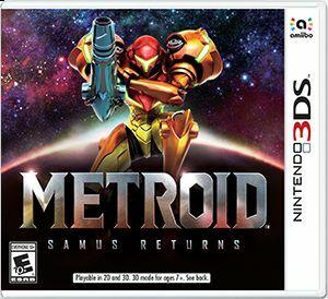Cover for Metroid: Samus Returns.