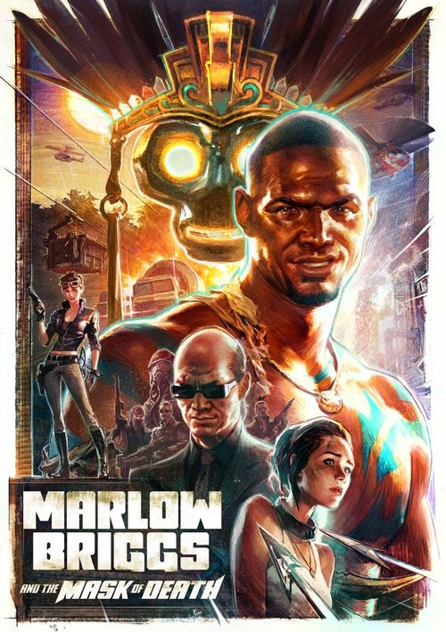 Cover for Marlow Briggs and the Mask of Death.